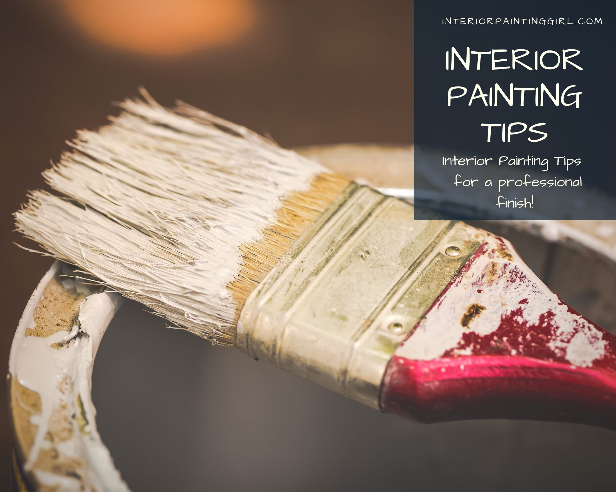 Learn Professional Interior Painting Tips from InteriorPaintingGirl.com