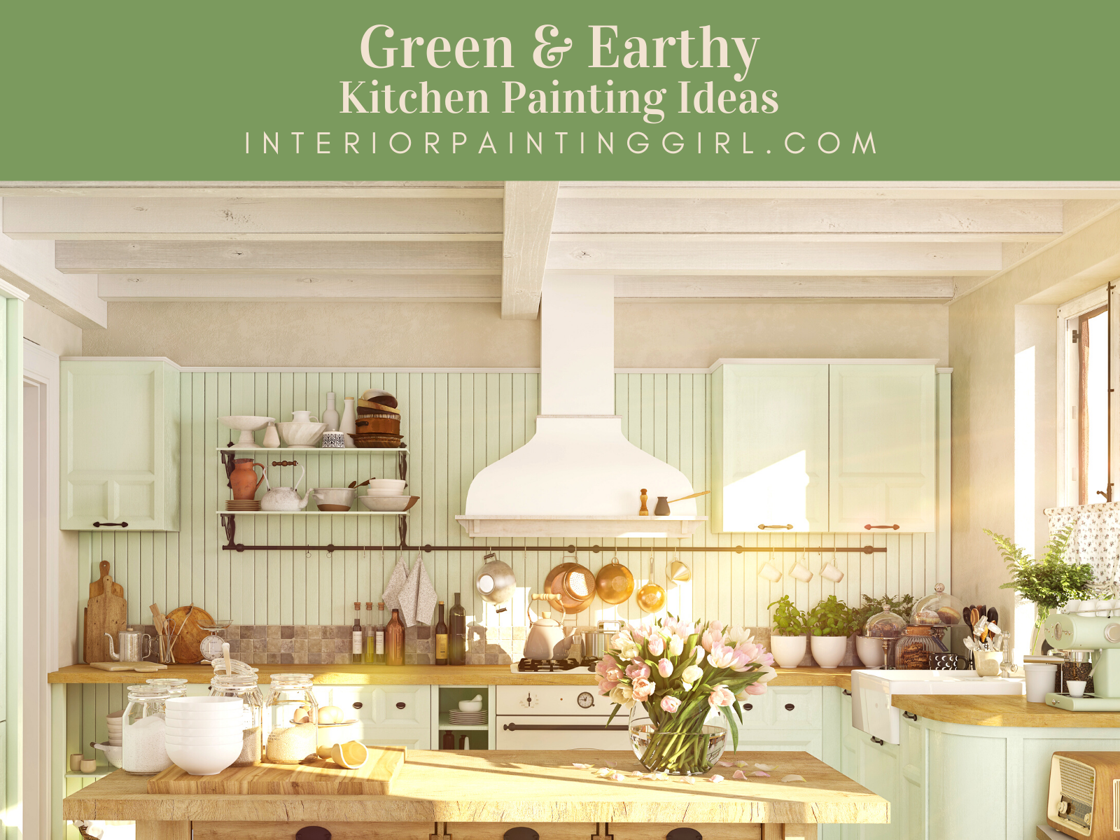 Kitchen Painting Ideas from That Interior Painting Girl